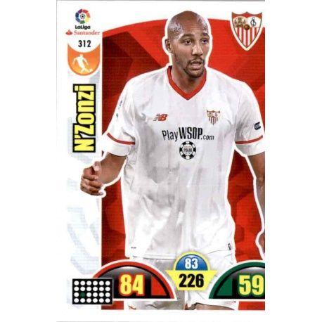 N'Zonzi Sevilla 312 Cards Básicas 2017-18