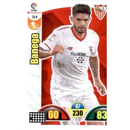 Banega Sevilla 314 Cards Básicas 2017-18