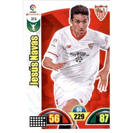 Jesús Navas Sevilla 315 Cards Básicas 2017-18
