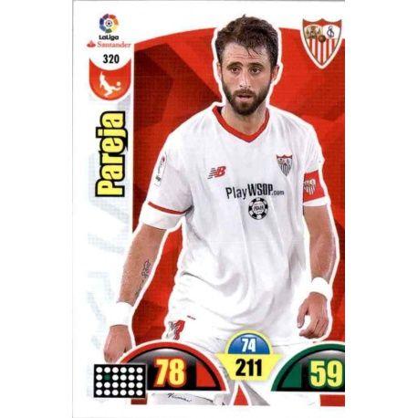 Pareja Sevilla 320 Cards Básicas 2017-18