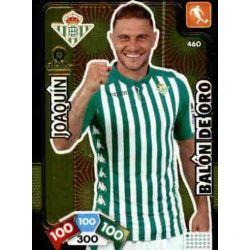 Joaquín Balón de Oro 460 Adrenalyn XL Liga Santader 2019-20