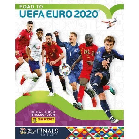 Colección Panini Road to Uefa Euro 2020 Sticker Collection Colecciones Completas