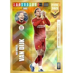 Virgil van Dijk Top Master Liverpool 4FIFA 365 Adrenalyn XL 2020