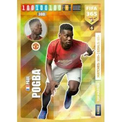 Paul Pogba Top Master Manchester United 6 FIFA 365 Adrenalyn XL 2020