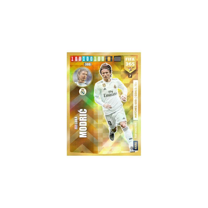 Panini Adrenalyn xl Fifa 365 2020 Luka Modric TOP MASTER