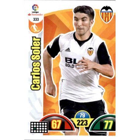 Carlos Soler Valencia 333 Cards Básicas 2017-18
