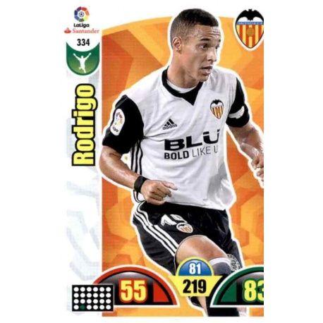Rodrigo Valencia 334 Cards Básicas 2017-18