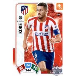 Koke Atlético de Madrid 49