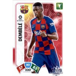 Ousmane Dembélé Barcelona 71 Adrenalyn XL Liga Santader 2019-20