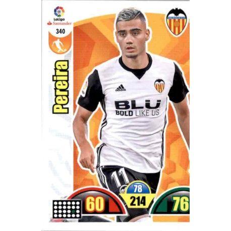 Pereira Valencia 340 Cards Básicas 2017-18