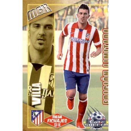 David Villa Edición Limitada Atlético Madrid 508 Megacracks 2013-14