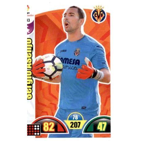 Sergio Asenjo Villarreal 343 Cards Básicas 2017-18
