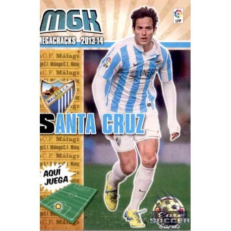 Santa Cruz Fichas Bis Málaga 234 Bis Megacracks 2013-14