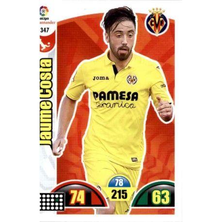 Jaume Costa Villarreal 347 Cards Básicas 2017-18