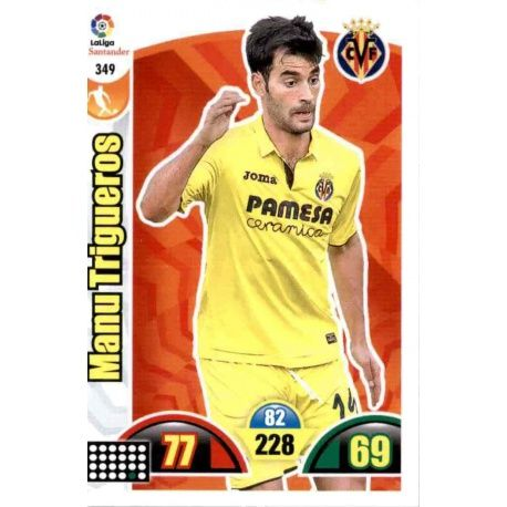 Manu Trigueros Villarreal 349 Cards Básicas 2017-18