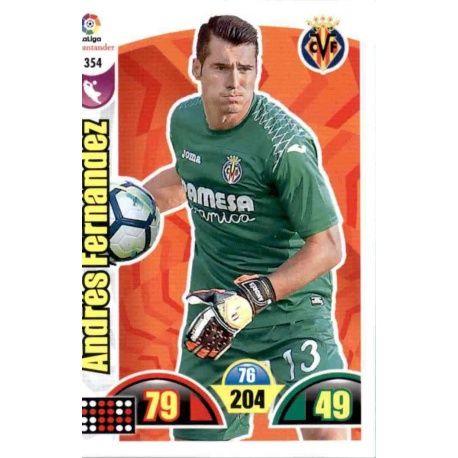 Andrés Fernández Villarreal 354 Cards Básicas 2017-18