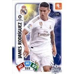 James Rodríguez Real Madrid 229 Adrenalyn XL Liga Santader 2019-20