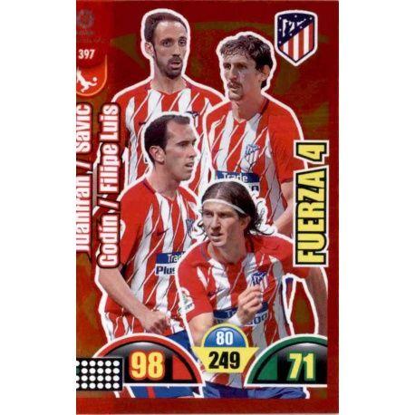 Atlético de Madrid Fuerza 4 397 Fuerza 4 - Guantes Oro