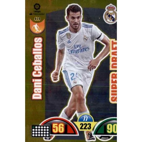 Dani Ceballos Super Draft 419 Super Draft 2017-18