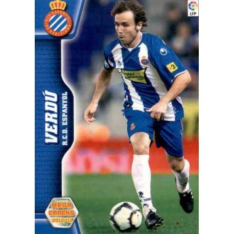 Verdú Espanyol 102 Megacracks 2010-11