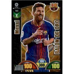 Leo Messi Balón de Oro 465