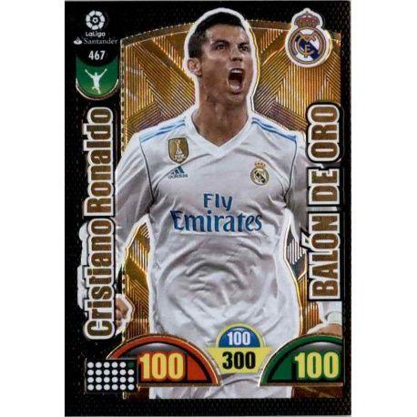 Cristiano Ronaldo Balón de Oro 467 Balón de Oro 2017-18