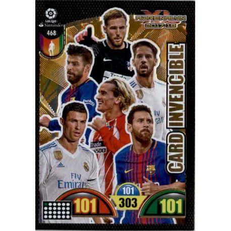 Card Invencible Balón de Oro 468 Balón de Oro 2017-18