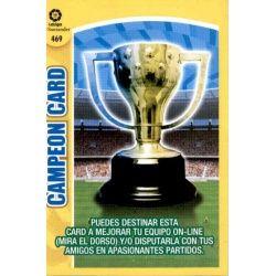 Campeón Card 469