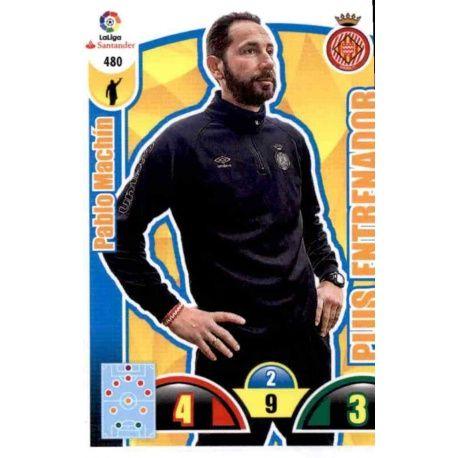 Pablo Machin Plus Entrenador 480 Adrenalyn XL La Liga Update 2017-18