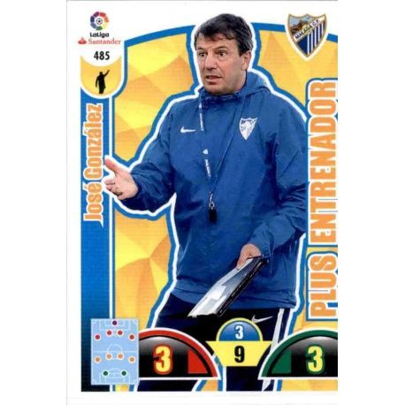 José González Plus Entrenador 485 Adrenalyn XL La Liga Update 2017-18