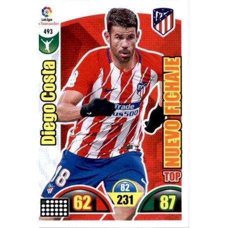 Diego Costa Top Nuevo Fichaje 493 Adrenalyn XL La Liga Update 2017-18