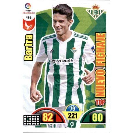 Bartra Top Nuevo Fichaje 496 Adrenalyn XL La Liga Update 2017-18