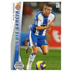 Luis Garcia Espanyol 124 Megacracks 2008-09