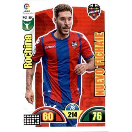 Rochina Nuevo Fichaje 251 Bis Adrenalyn XL La Liga Update 2017-18