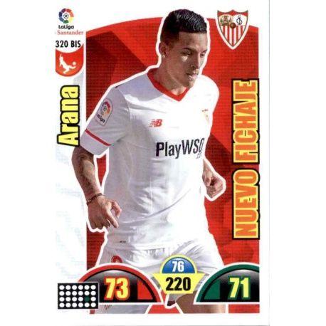 Arana Nuevo Fichaje 320 Bis Adrenalyn XL La Liga Update 2017-18