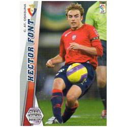 Hector Font Osasuna 227 Megacracks 2008-09