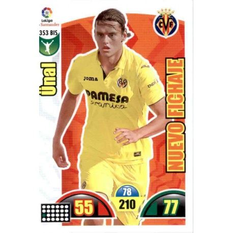Ünal Nuevo Fichaje 353 Bis Adrenalyn XL La Liga Update 2017-18