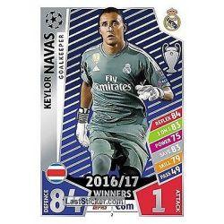 Keylor Navas Real Madrid 2Match Attax Champions 2017-18