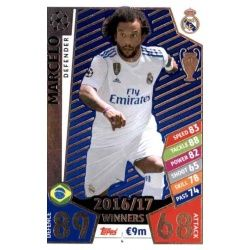 Marcelo Real Madrid 4Match Attax Champions 2017-18
