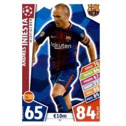Andrés Iniesta Barcelona 32