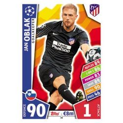 Jan Oblak Atlético Madrid 38