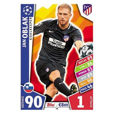 Jan Oblak Atlético Madrid 38