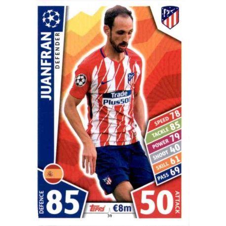 Juanfran Atlético Madrid 39