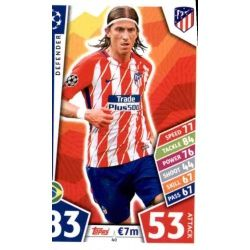 Filipe Luís Atlético Madrid 40