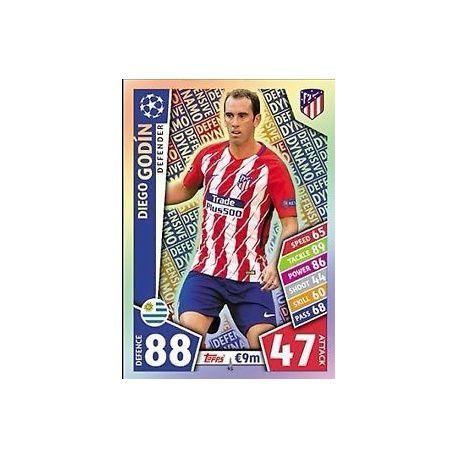 Diego Godín - Defensive Dynamo Atlético Madrid 41