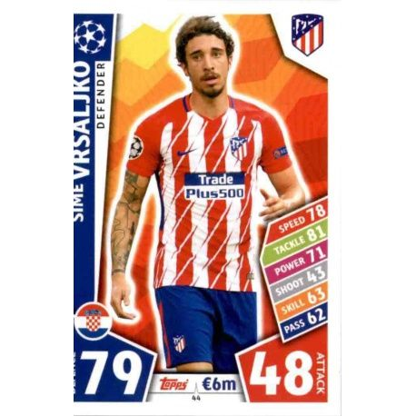 Šime Vrsaljko Atlético Madrid 44