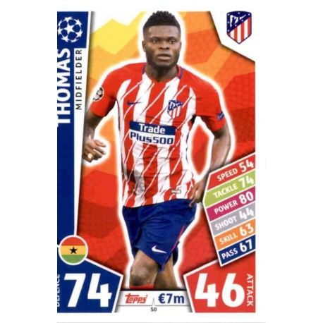 Thomas Atlético Madrid 50