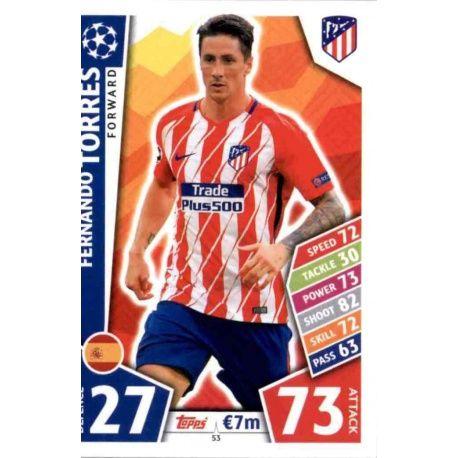 Fernando Torres Atlético Madrid 53