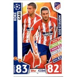 Koke - Gabi - Midfield Duo Atlético Madrid 54