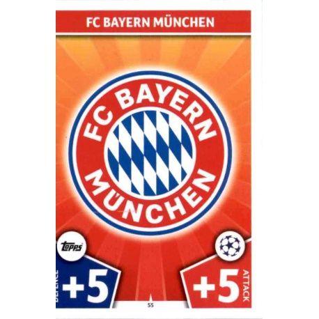 Escudo Bayern Munich 55